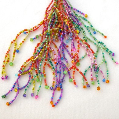 Party Amulet Bag fringe